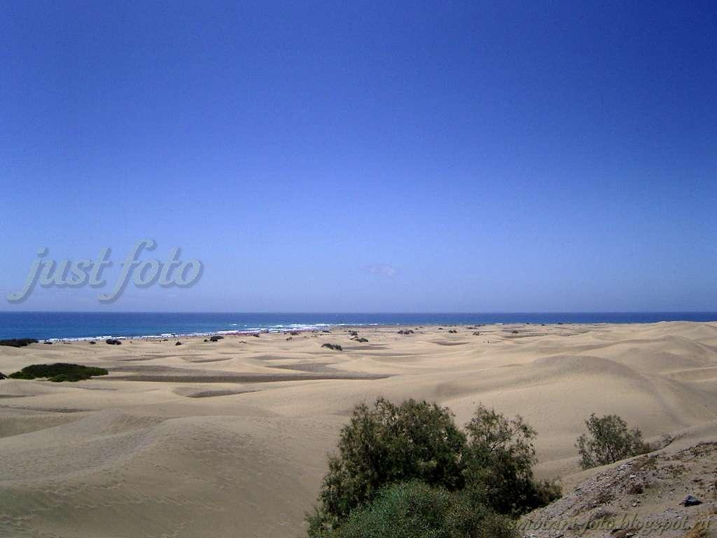 Остров Гран Канария - дюны фото