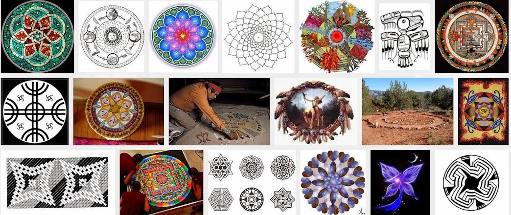 Los Mandalas Y Los Indios Americanos - Mandalas-indios