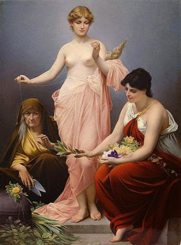 The Three Fates Or Morai