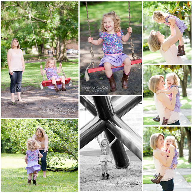 Jennifer & daughter's mommy & me mini session