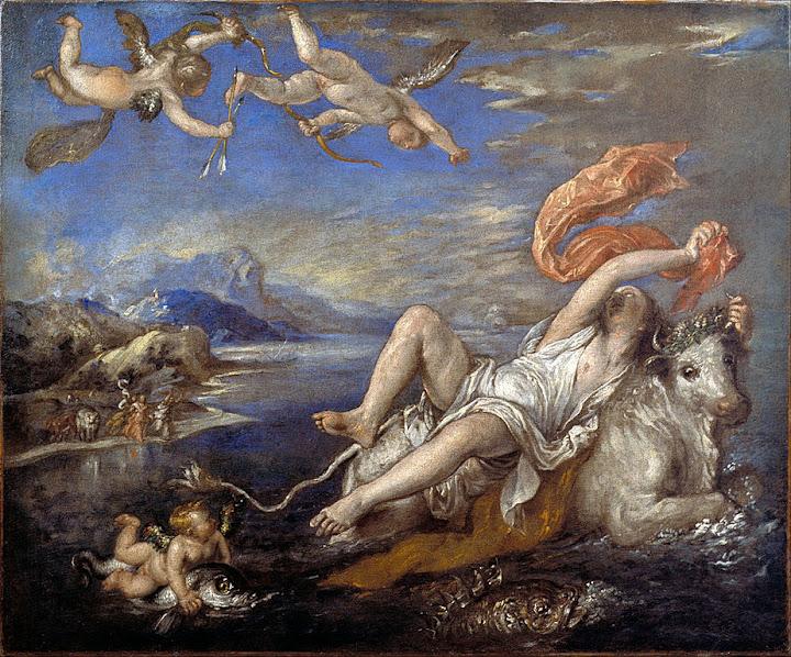 Tiziano Vecellio - Rape of Europa
