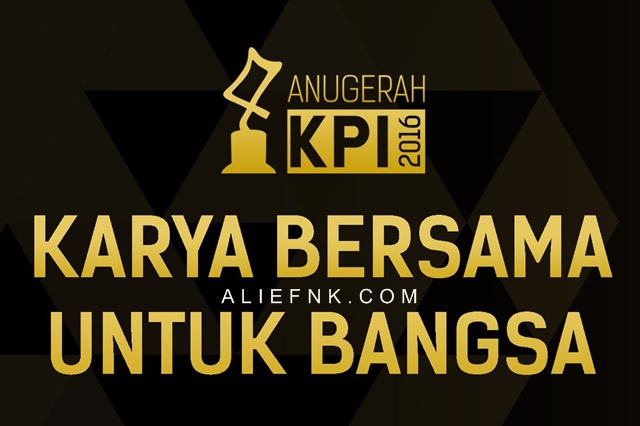 Anugerah KPI 2016 | #AnugerahKPI2016 [image by @AnugerahKPI]