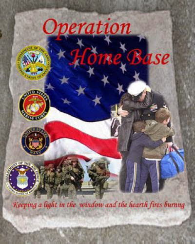 Operation Home Base Deacon Deek Williams