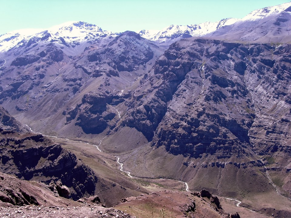 valle nevado verão