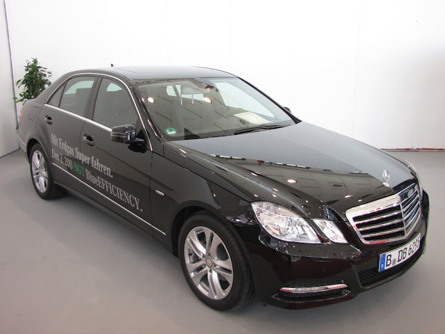 Mercedes W212 E 200 NGV (CNG)