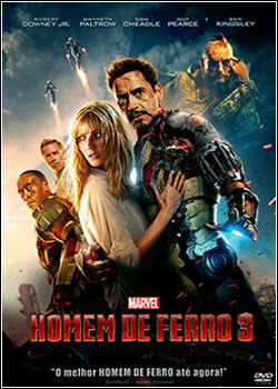 Download – Homem de Ferro 3 – BDRip AVI Dual Áudio + RMVB Dublado ( 2013 )