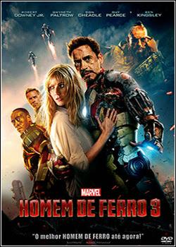 Baixar Filme   Homem de Ferro 3   DVD R   PROPER   Dublado Dual Audio (2013)