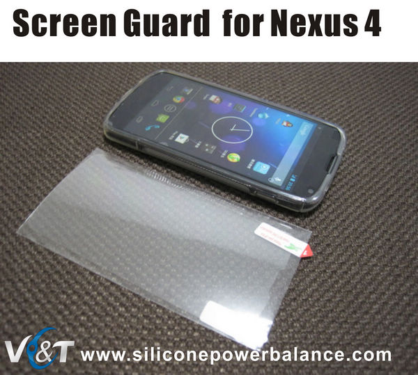 screen protector for lg e960 nexus 4 screen guard wholesale bulk buy
