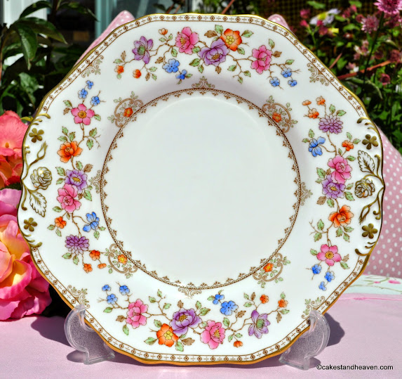 Spode Lauriston Bone China Cake Plate c.1962