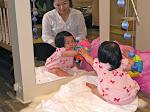 LePort Preschool Huntington Beach - Baby exploring mirror - Montessori infant daycare