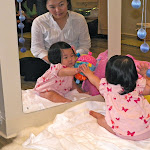 LePort Preschool Huntington Beach - Baby exploring mirror - Montessori infant daycare