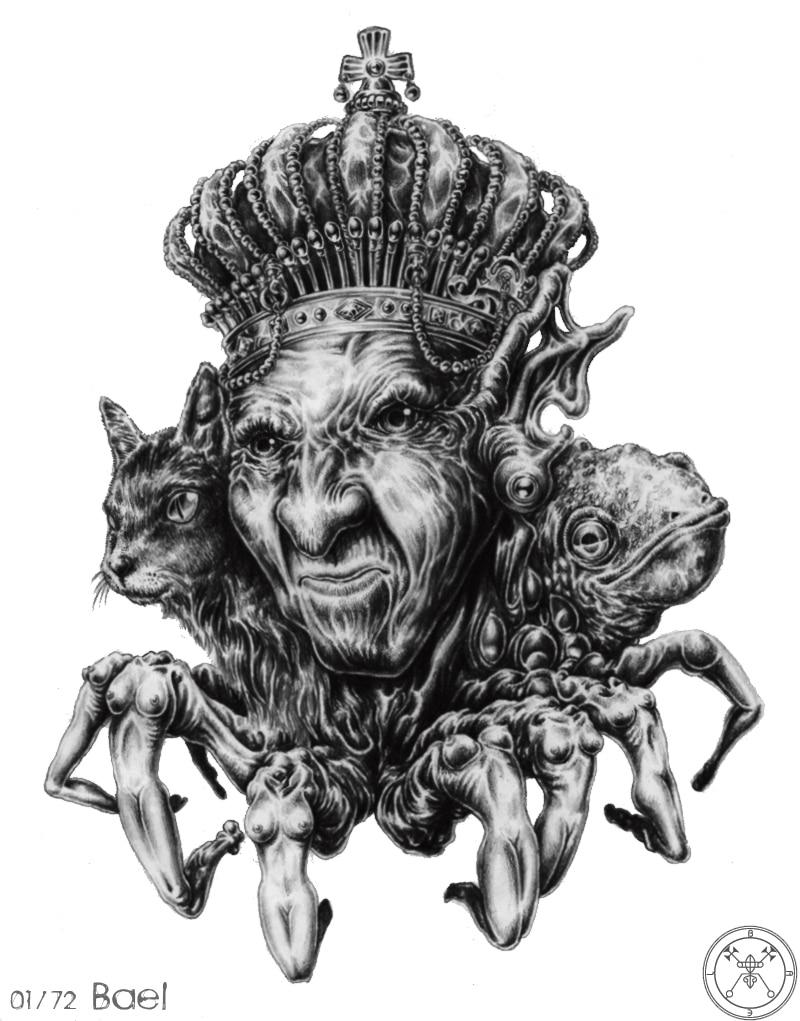 Hắn ta là con quỷ thống trị vùng đất phía Đông. Hắn ta có thể ban cho chủ  nhân của hắn khả năng tàng hình và sự thông thái vô tận.