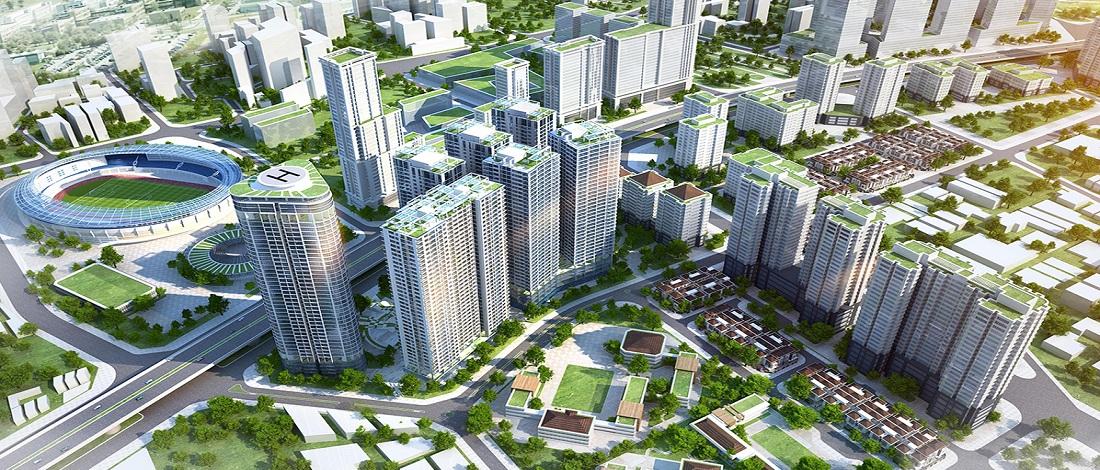 Chung cư riverside garden
