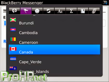 Fancy Smiley Pro v4.1 for BlackBerry