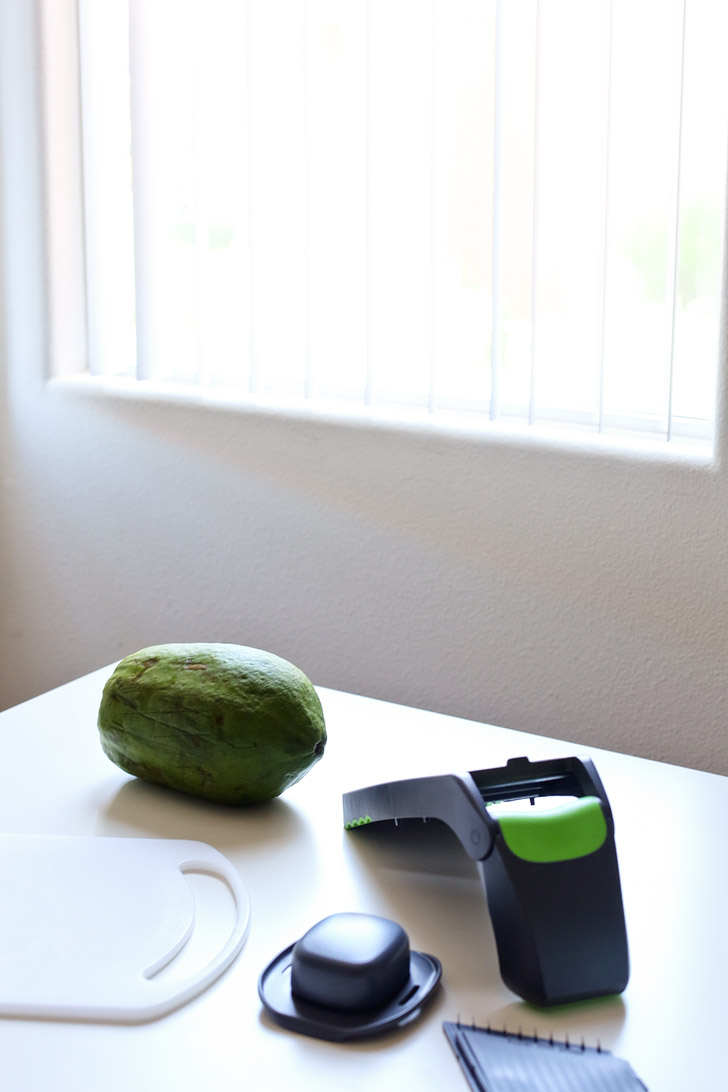 Green Papaya Salad Recipe // Tried and True Recipes.