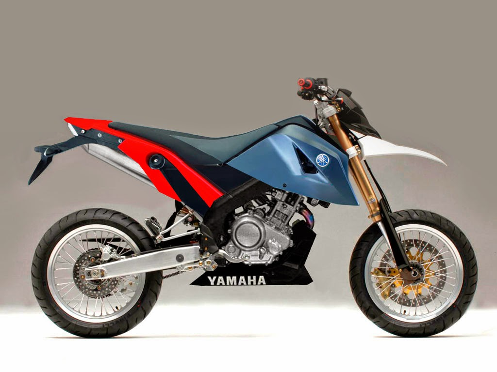 Supra X 125 Modifikasi Supermoto