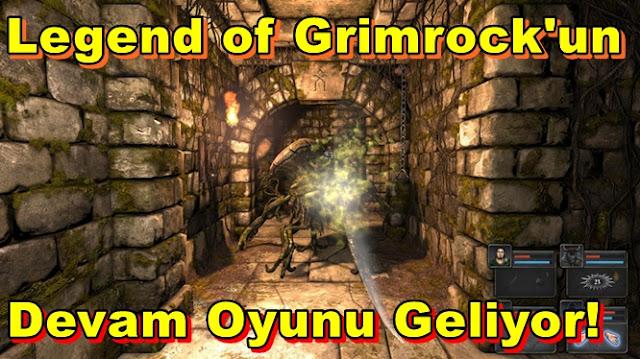 Legend of Grimrock'un Devam Oyunu Geliyor!