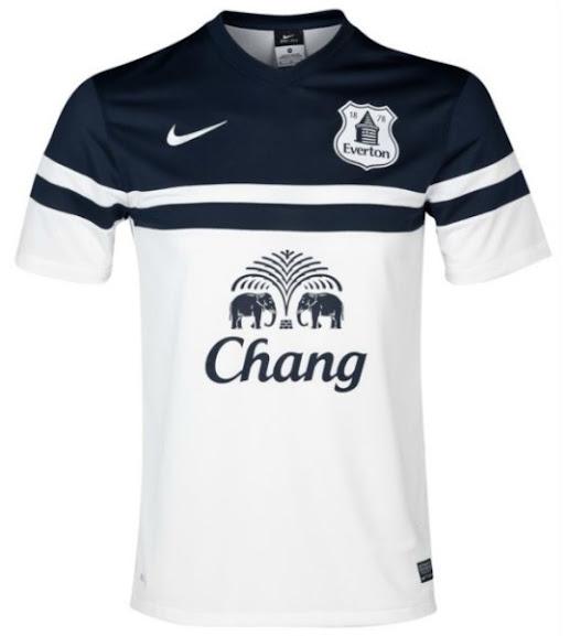 Jual Jersey Everton Away Putih Terbaru 2014