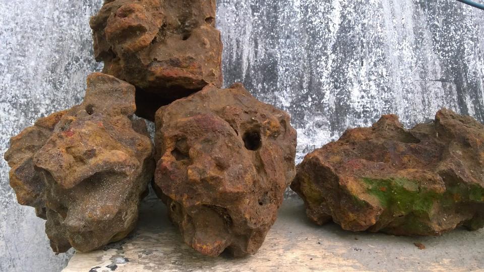 Các loại đá thủy sinh đang có tại Vinh Aqua