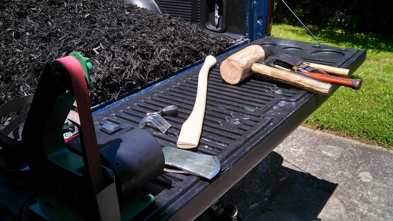 Axe Handle Craft Project