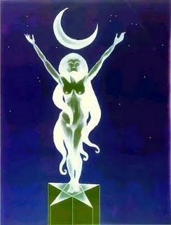 The Maiden Goddess Aspect Of Freedom Image