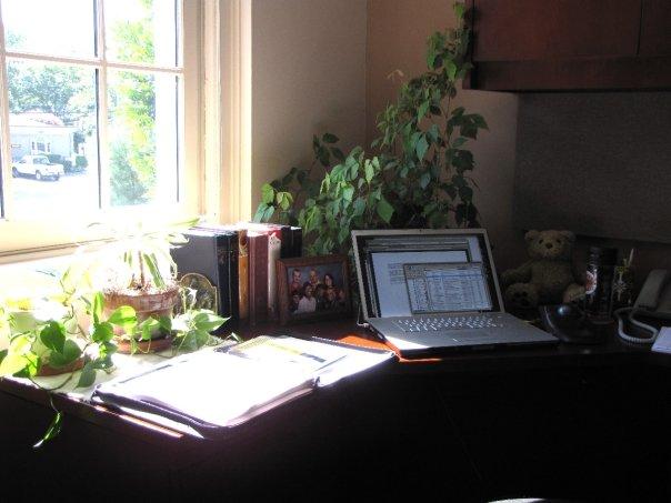 Desk in My New Office