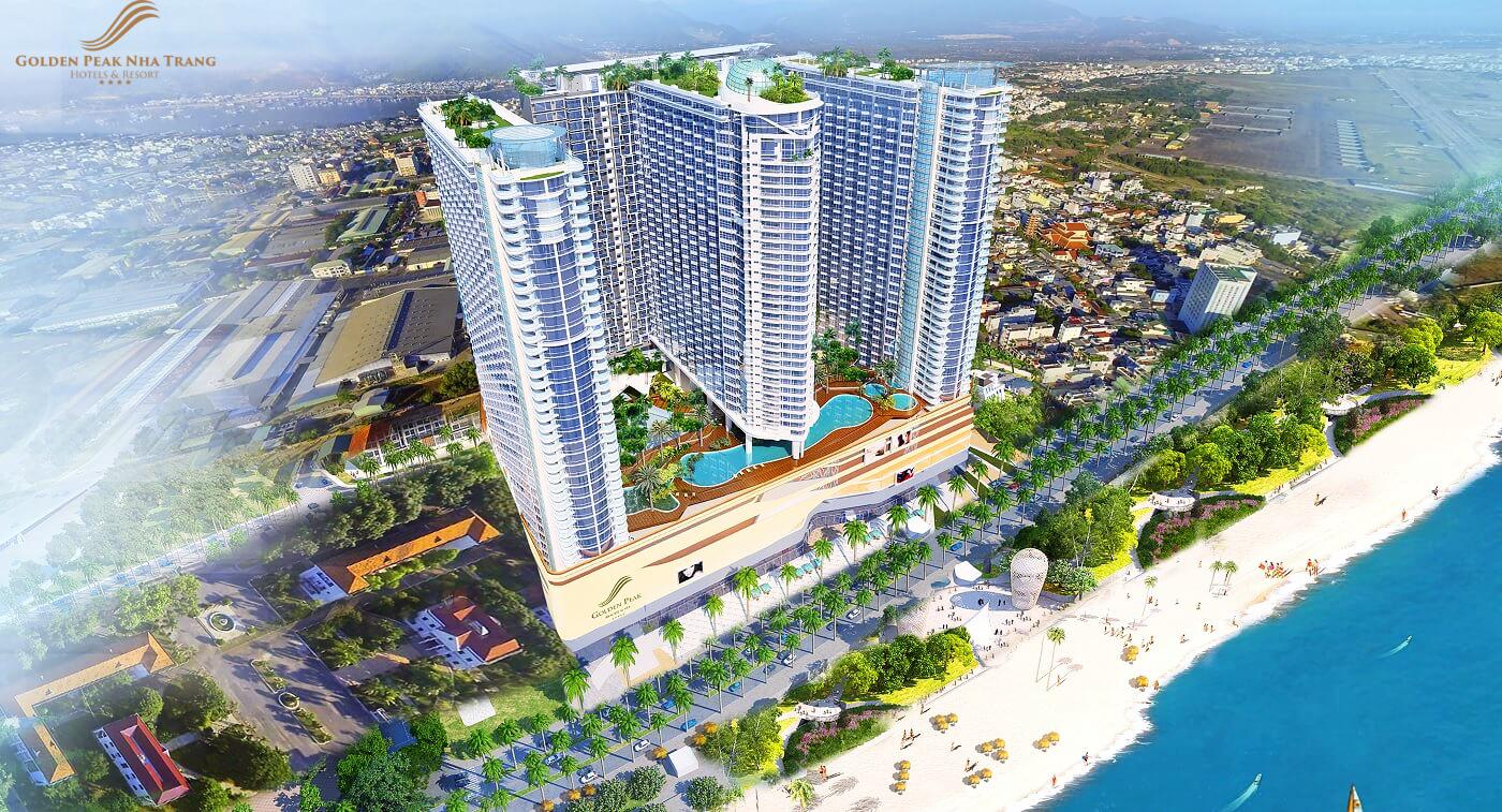 Thiết kế tổng thể dự án Golden Peak Nha Trang
