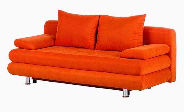 canap dorothy orange - Canape Colore