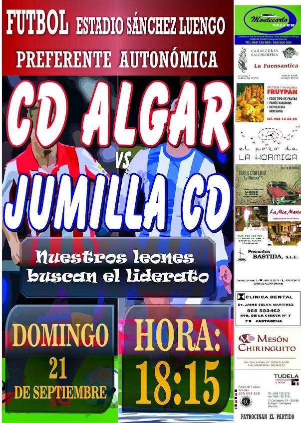 artel del Partido CD Algar vs Jumilla CD