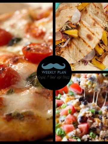 Weekly Meal plan, recipes, daily to do lists, meal prep, grocery list and more!