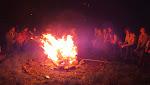 Slavnostní oheň, bohužel bez slavnostních událostí