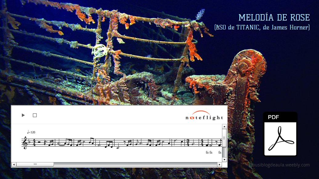 Melodía De Rose (Titanic)