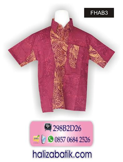 baju batik anak anak, contoh gambar baju batik, baju batik anak laki-laki