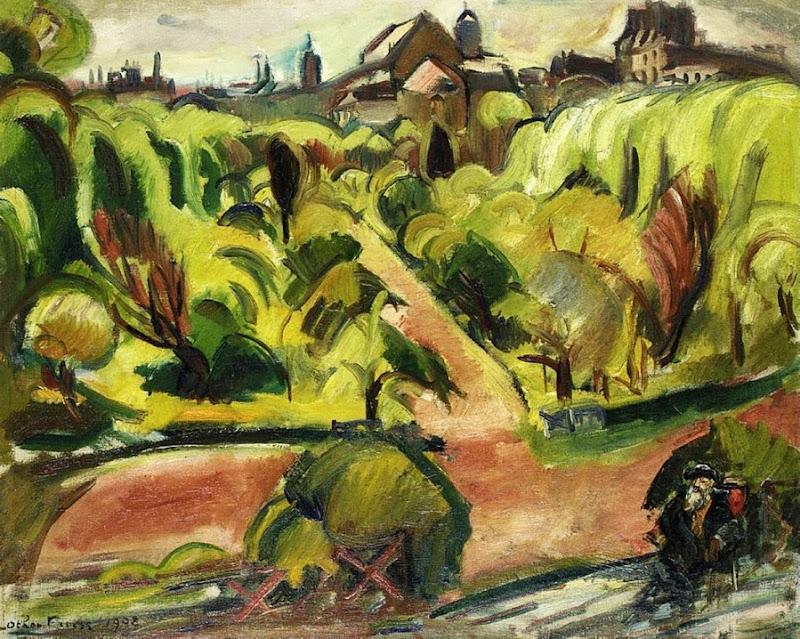 Othon Friesz - Le Jardin de Rodin,1908