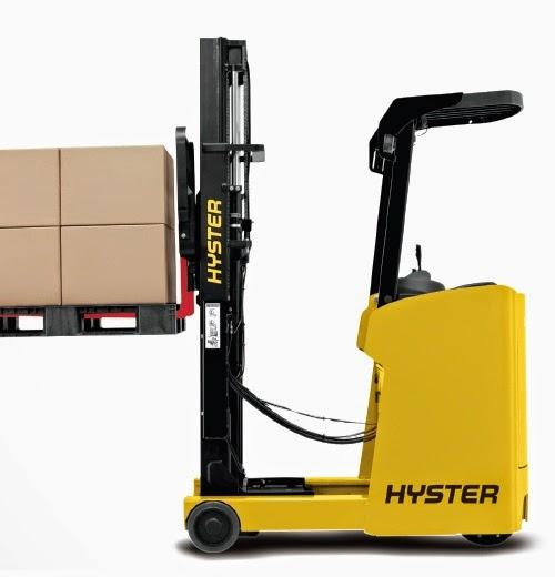 reach truck hyster 1.5 tan