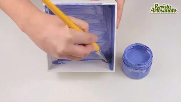 Caixa filtro de café