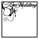 Our Wedding Scrapbooking Die Cut Overlay