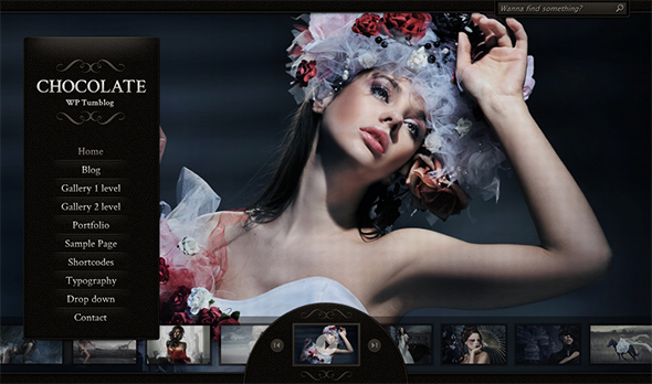 Chocolate WP WordPress Portfolio Theme