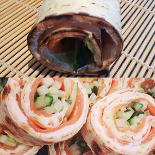 Smoked Salmon Sushiwich