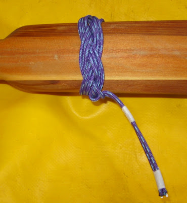 Experimental Greenland Paddle Drip Knot