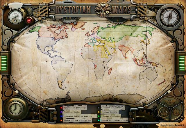 Mapa Dystopian Wars