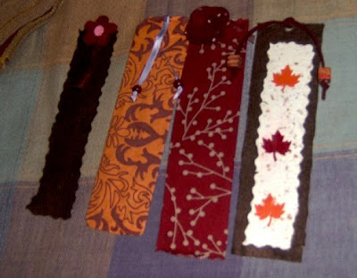 misc homemade bookmarks