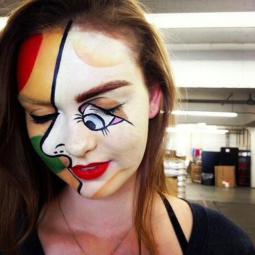 Disfraz cara pintada original