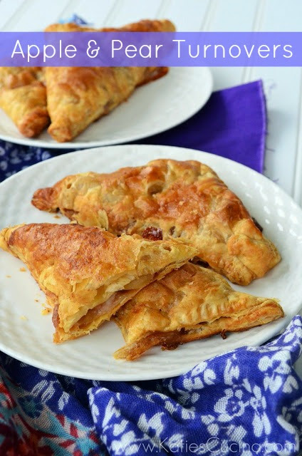 Apple & Pear Turnovers from KatiesCucina.com