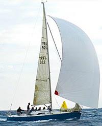 K92 sailing off France