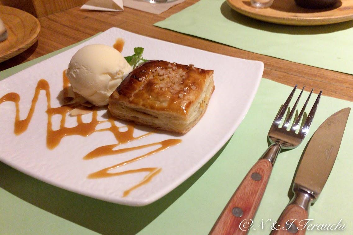 アップルパイ&アイスクリーム