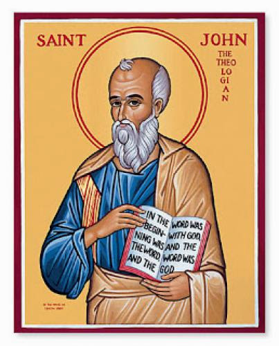 Saint John Apostle And Evangelist December 27Th
