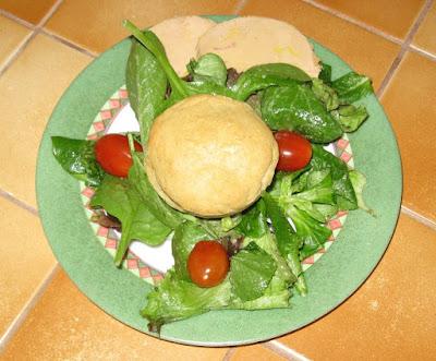 Assiettes festives aux 2 foies gras - recette indexée dans les Entrées