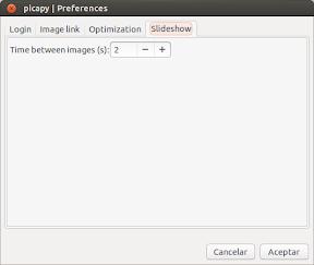 Picapy con presentación de imágenes