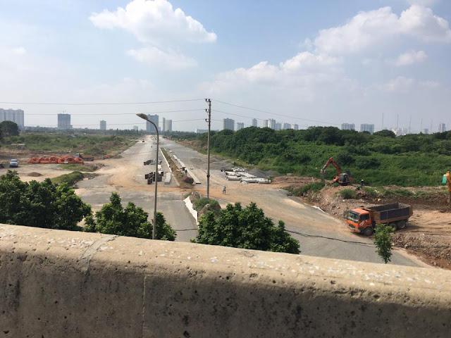 Sắp Hoàn Thành Tuyến Đường Nối Đường Nguyễn Xiễn Với KĐT Xa La Hà Đông